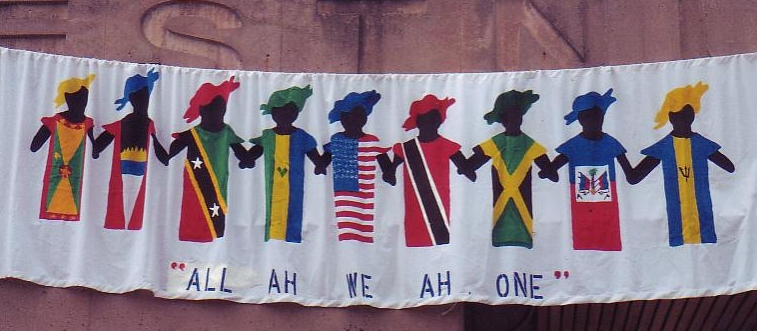 Banner of the Philadelphia Caribbean Festival